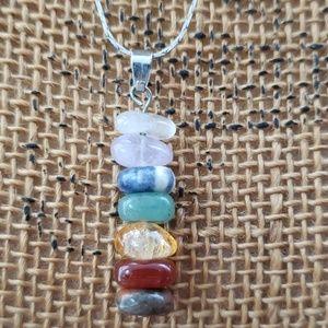 Stone Chakra Necklace